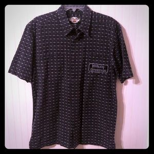 Really Nice, Heavy Harley Davidson Button Down